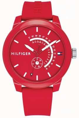 Tommy Hilfiger 红色牛仔布日期和日期显示 1791480
