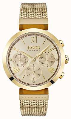 Hugo Boss 女士多功能经典运动黄金日和日期显示 1502425