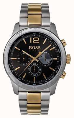 Boss 男士专业计时码表双色手镯 1513529