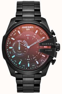 Diesel 男士megachief混合smartwatch镀铁手镯 DZT1011