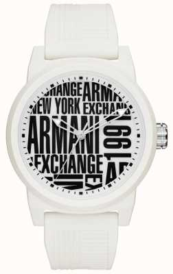 Armani Exchange 男士atlc硅胶表带 AX1442