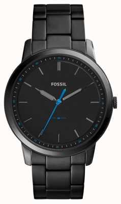Fossil 男士极简主义3小时不锈钢表带 FS5308