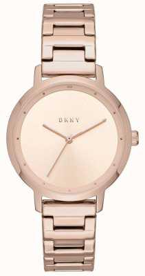 DKNY 女士现代主义不锈钢表带 NY2637