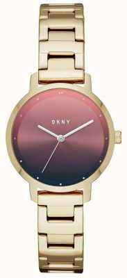 DKNY 女士现代主义不锈钢表带 NY2737