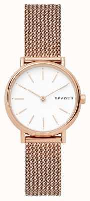 Skagen 女装signatur不锈钢网布表带 SKW2694