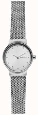 Skagen 女士的freja不锈钢网布表带 SKW2715