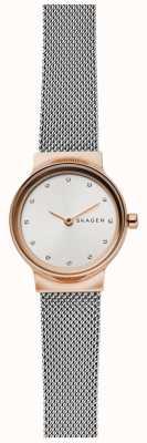 Skagen 女士的freja不锈钢网布表带 SKW2716