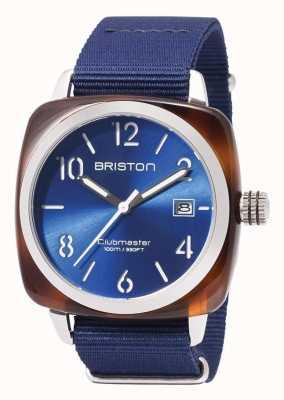 Briston Clubmaster运动图标蓝色表带 17142.SA.TS.9.NNB