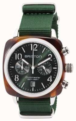 Briston Clubmaster运动图标绿色表带 17142.SA.TS.10.NBG