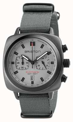 Briston Clubmaster运动北约表带灰色 18142.SPG.SP.12.NG