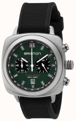 Briston Clubmaster运动英式绿色亚光黑色表带 16142.S.SP.16.RB