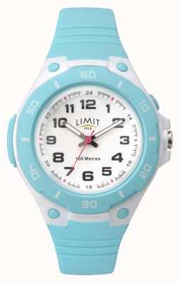 Limit 女式青色蓝色模拟运动手表 5698.71