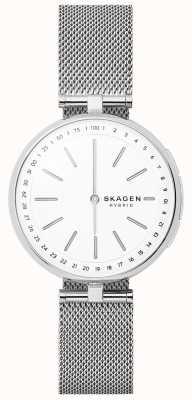 Skagen Signatur连接智能手表不锈钢网 SKT1400