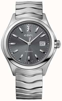 EBEL 男士自动波形灰色表盘日期显示不锈钢 1216266