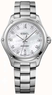 EBEL 女士钻石发现珍珠不锈钢的母亲 1216394