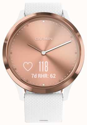 Garmin Vivomove hr(小/中)活动跟踪器白玫瑰金 010-01850-02