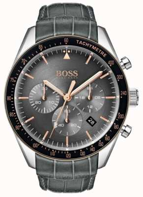 Hugo Boss 男士奖杯灰色表盘 1513628