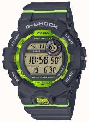 Casio G-squad灰绿色数字蓝牙步跟踪器 GBD-800-8ER
