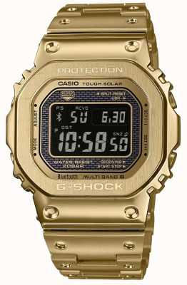 Casio G-shock无线电控制蓝牙太阳能镀金钢 GMW-B5000GD-9ER