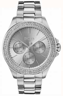 Hugo Boss 女装首映水晶套装不锈钢 1502442