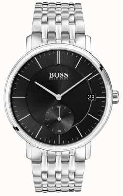 Hugo Boss 男士不锈钢黑色表盘 1513641