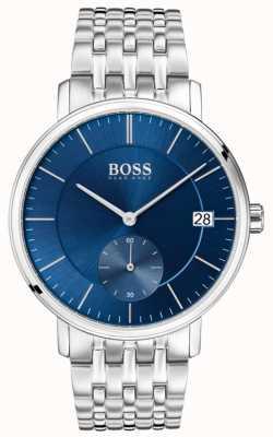 Hugo Boss 男士不锈钢蓝色表盘 1513642