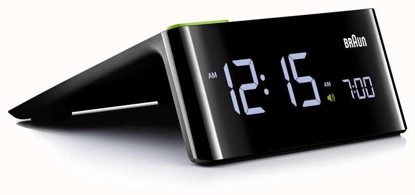 Braun 床头数字闹钟|液晶显示器 BNC016BKUK