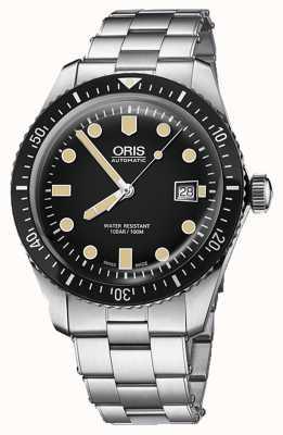 Oris 潜水员六十五个自动日期显示 01 733 7720 4054-07 8 21 18