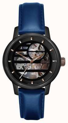 Weird Ape Rosalind黑色玫瑰金/靛蓝色皮革 WA02-005801
