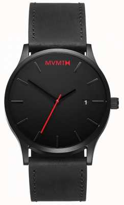 MVMT 经典黑色皮革|黑色表带|黑色表盘 D-L213.5L.551