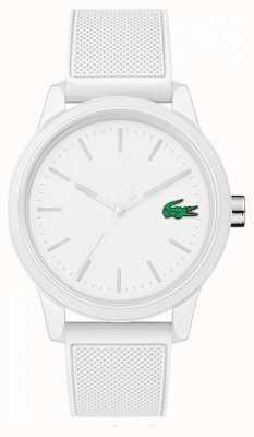Lacoste 白色橡胶12.12手表2010984