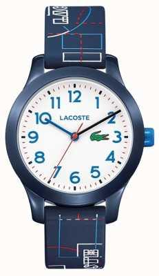 Lacoste 12.12儿童蓝色表带白色表盘 2030008