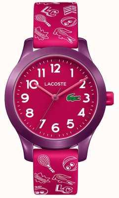 Lacoste 12.12儿童粉色表带粉色表盘 2030012