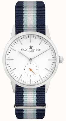 Smart Turnout 签名手表 - 白色搭配yh表带 STK3/WH/56/W