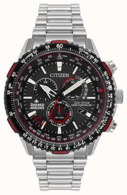Citizen 男士红色箭头特别版无线电控制生态驱动器 CB5008-82E
