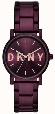 DKNY Soho女士紫色pvd镀金手链 NY2766