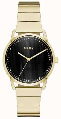 DKNY 女式海军蓝色皮表带 NY2756