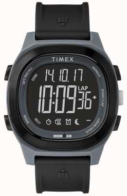 Timex 钢铁侠必备黑色快速包裹手表 TW5M19300SU