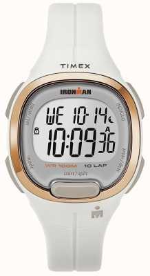 Timex 钢铁侠必备的白色和玫瑰金手表 TW5M19900SU