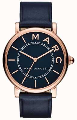 Marc Jacobs 女装marc jacobs经典手表海军蓝皮革 MJ1534