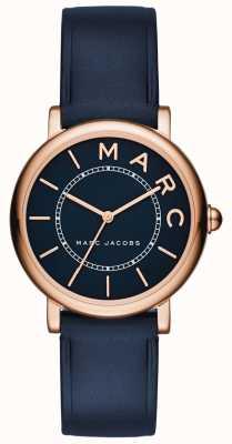 Marc Jacobs 女装marc jacobs经典手表海军蓝皮革 MJ1539