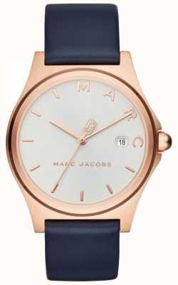 Marc Jacobs 女式亨利手表海军蓝皮表带 MJ1609