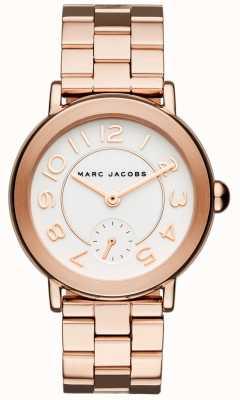 Marc Jacobs 女式莱迪手表玫瑰金色调 MJ3471