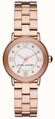 Marc Jacobs 女士riley手表玫瑰金色调(无盒) MJ3474