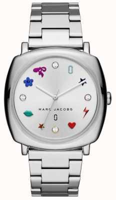 Marc Jacobs 妇女曼迪观看银色调 MJ3548