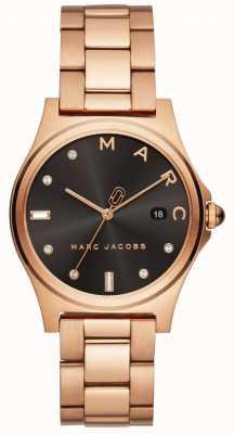 Marc Jacobs 女装亨利手表玫瑰金色调 MJ3600