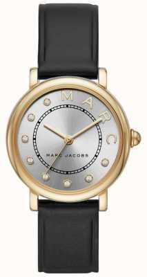 Marc Jacobs 女装marc jacobs经典手表黑色皮革 MJ1641