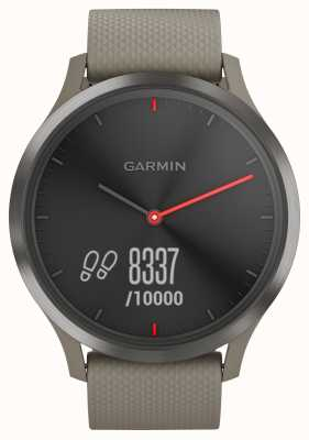 Garmin Vivomove hr活动追踪器砂岩表带黑色表盘 010-01850-03