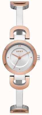 DKNY 女装城链接不锈钢手链表 NY2749