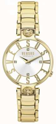 Versus Versace 女士克里斯汀霍夫黄金表盘黄金PVD手链 SP49060018